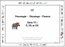 Lecture CP - série 11