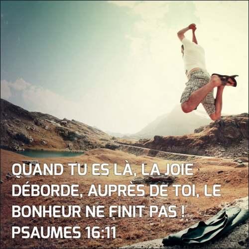 """La pensée du jour : """" La plénitude de la présence de Dieu """""""