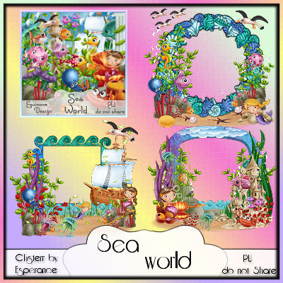 Cluster Sea World