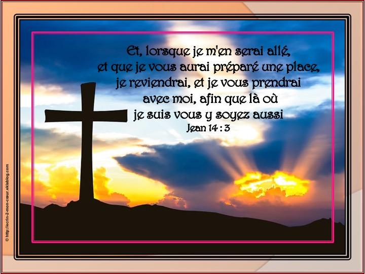 Je vous prendrai avec moi - Jean 14: 3