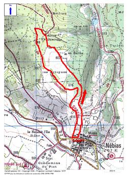 C'est la News (prochaine randonnée de la page d'accueil) : Le Sentier du Labyrinthe Vert de Nébias.