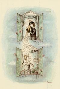 Né un 16 novembre, Raymond Peynet alchimise l'amour en art éternel et sublimé.