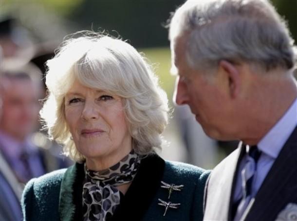 Charles et Camilla à la boulangerie