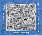 Couverture du calendrier 2012/2013