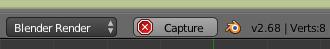 Cliquer sur le bouton Capture pour stopper la saisie automatique