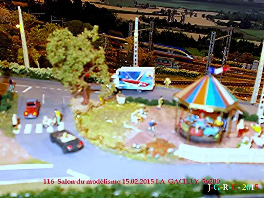 ANIMATION  LA GACILLY  56200    SALON DU MODELISME  13/10/2015