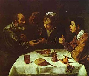 Diego-Velazquez-Peasants-Dinner-