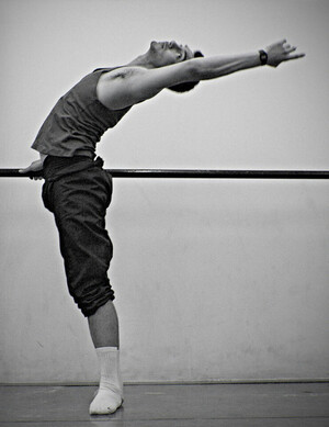 dance ballet class cambré back ballet
