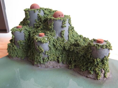 La forteresse...