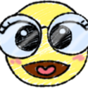 Emoticône Binocles