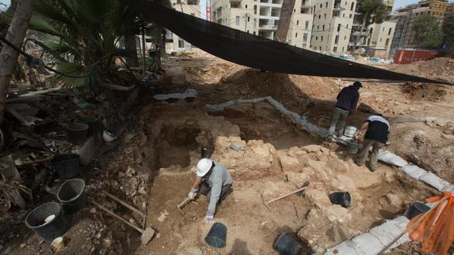 Des scènes de la Bible découvertes dans les ruines d'une ancienne synagogue