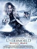 Underworld - Blood Wars : Dans ce nouvel opus de la franchise de blockbusters,Underworld: Blood Wars suit la chasseuse de lycans Selene face aux agressions brutales des clans lycans et vampires qui l'ont trahie. Avec ses seuls alliés, David et son père Thomas, elle doit mettre fin à la guerre sempiternelle entre les deux clans, même si cela implique pour elle de faire le sacrifice ultime. ... ----- ... Origine : Américain  Réalisation : Anna Foerster  Durée : 1h 31min  Acteur(s) : Kate Beckinsale,Theo James,Tobias Menzies  Genre : Action,Fantastique,Epouvante-horreur  Date de sortie : 15 février 2017  Année de production : 2016  Distributeur : Sony Pictures Releasing France  Critiques Spectateurs : 3.1