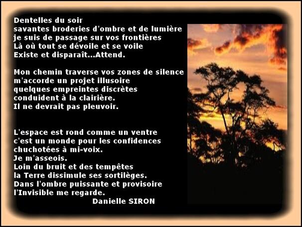 Auteur : Danielle SIRON.