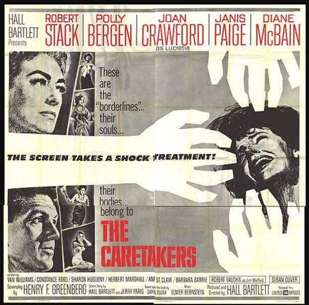 THE CARETAKERS BOX OFFICE 1963