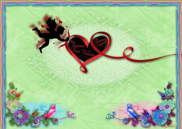 ♥Joyeuse Saint Valentin à tous les Amoureux♥