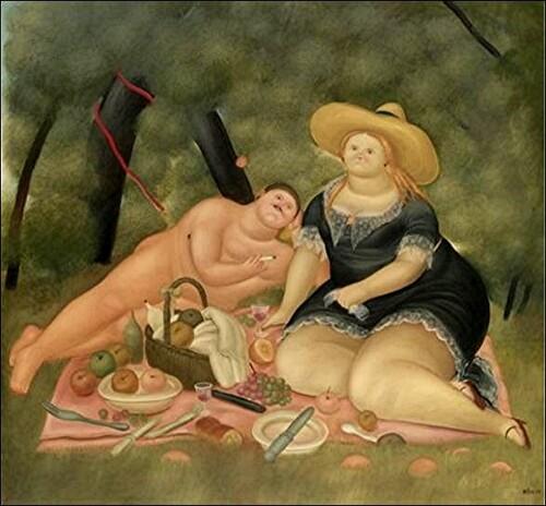 Botero/hommage aux artistes