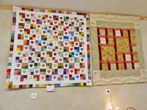 L'exposition 2011 de patchwork et d'artisanat d'Art à Meulson