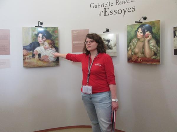 Sur les pas de Renoir à Essoyes, avec les adhérents de la Société Archéologique et Historique du Châtillonnais