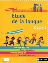 Programmation étude de la langue