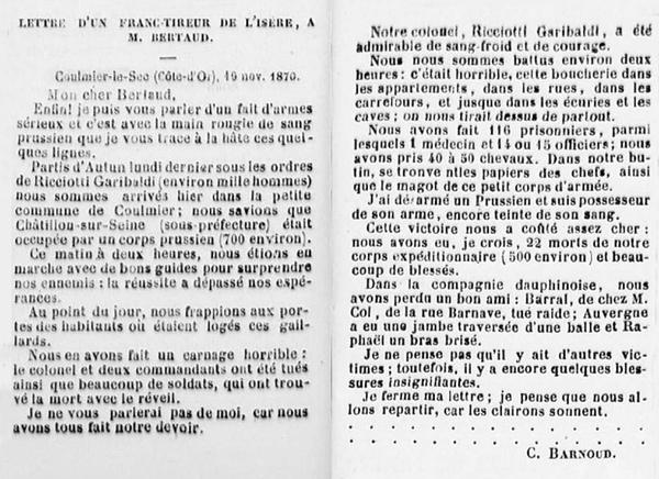 """Les monuments élevés aux morts de  la """"surprise"""" de Châtillon"""