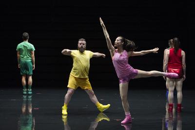 dance ballet aerobic ein ballett