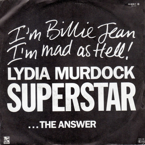 Lydia Murdock - Superstar, The Answer (1983)