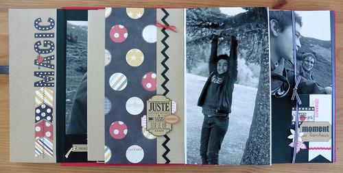 Album issu d'une crop : Bonheurs authentiques