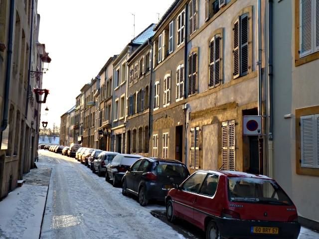 Centre Pompidou Metz neige 26