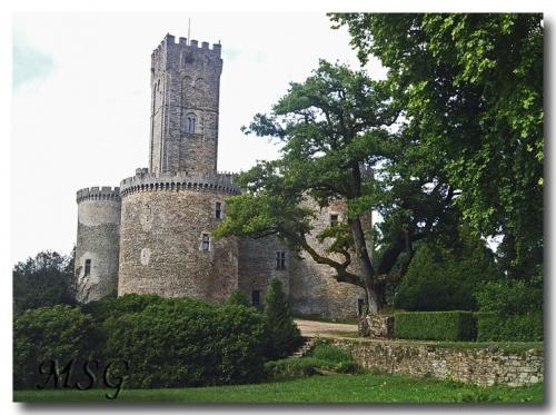 Le château de Dournazac