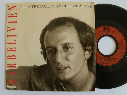 BRBELIVIEN, Didier - Peut-être toi, peut-être une autre (1986) (Chansons françaises)