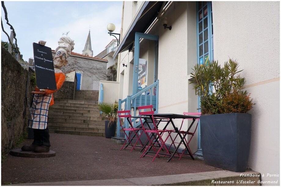 Restaurant L'Escalier gourmand à Pornic