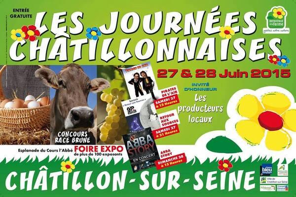 Les Journées Châtillonnaises 2015