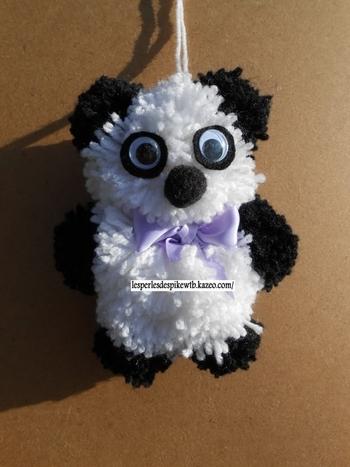 Pompon - Peluche Panda