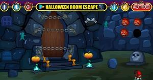 Jouer à Halloween horror door escape