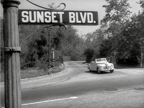 Boulevard du crépuscule, Sunset boulevard, Billy Wilder, 1950