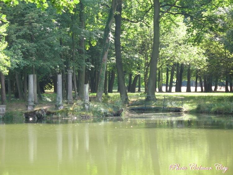 Parc de Schoppenwihr (68) :   L'île des Demoiselles et les autres