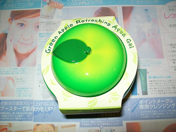 Sasatinnie refreshing apple gel