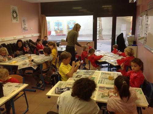 Ateliers de Noël N°1 en CP