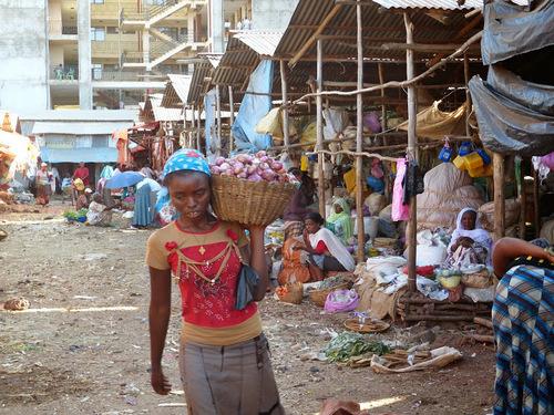 le petit marché local de Bahri Sar - suite et fin
