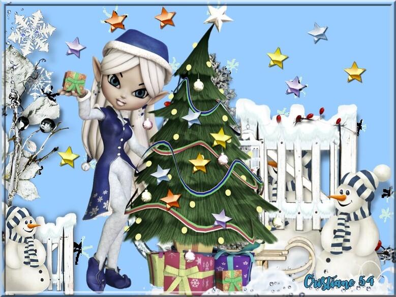 Défi Nathie à deux c'est mieux !!!!!!!!Reine des neige   princesse chanel  & Resoya hiver 3