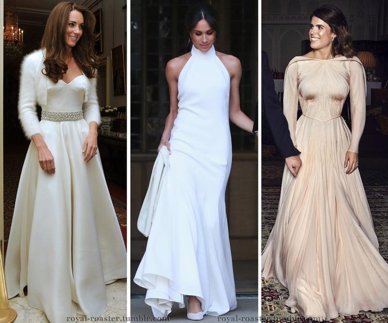 3 robes pour la réception du soir