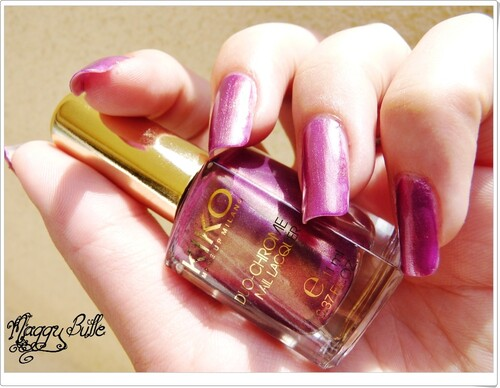 Kiko - N° 397 Duo Chrome alias Gold'in Pink