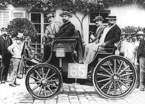 22 Juillet 1894 : Première course automobiles : Paris-Rouen