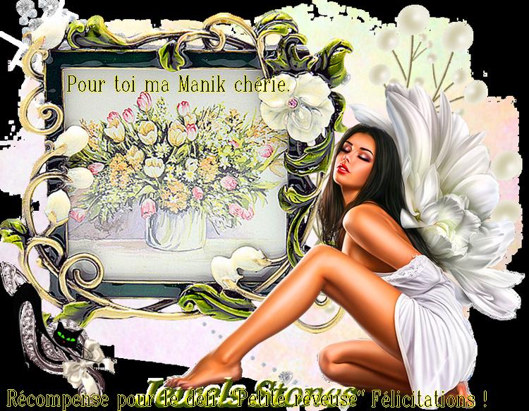 "Ta récompense ICI ma tite Manik.Défi"" La petite rêveuse"""