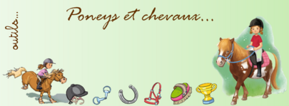 Poneys  et chevaux - QLM