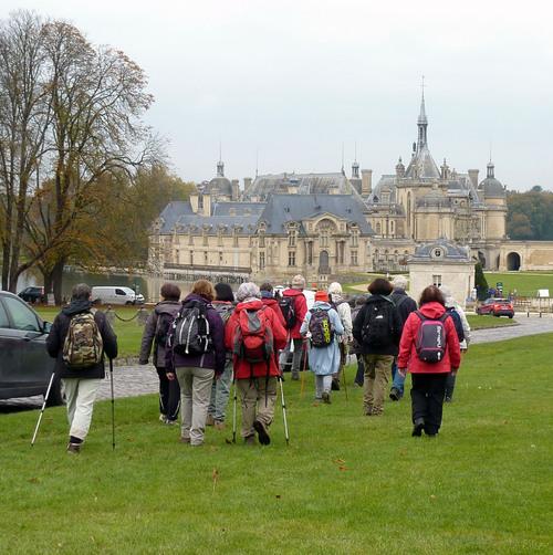 Les étangs de Commelles et le Château de Chantilly