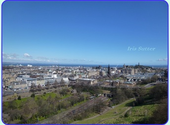 A charming city: Edinburgh