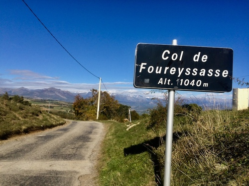 Col de Foureyssasse