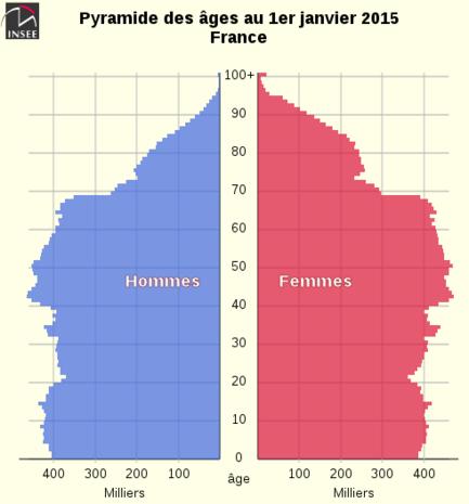"""Résultat de recherche d'images pour """"pyramides ages france 2017"""""""