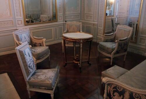 Le boudoir de la reine...
